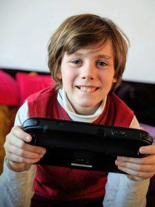 Minecraft sur WiiU, il ne s'en lasse pas !