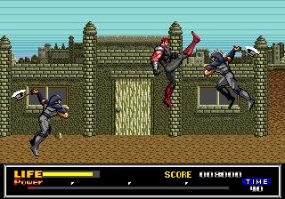Last Battle - Megadrive (SEGA, 1989)