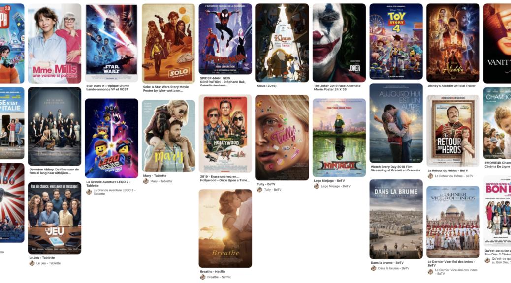 Les Bons films vu en 2019