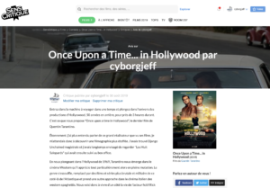 HollyWood : Once upon a time