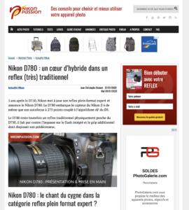 Nikon D780 : un cœur d'hybride dans un reflex (très) traditionnel