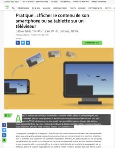 Pratique : afficher le contenu de son smartphone ou sa tablette sur un téléviseur