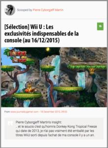 [Sélection] Wii U : Les exclusivités indispensables de la console (au 16/12/2015)