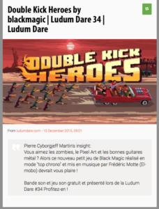 Double Kick Heroes - Ludum Dare 34