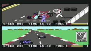 Pit Stop II - C64