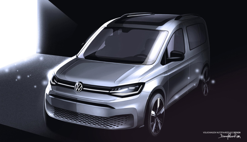 VW Caddy Concept