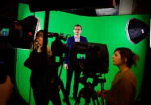 On tournait les dernières capsules studio de notre prochain MOOC : Histoire de Belgique