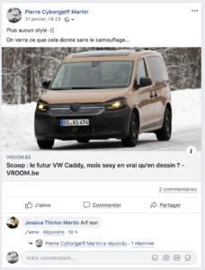 LE FUTUR VW CADDY, MOIS SEXY EN VRAI QU'EN DESSIN ?