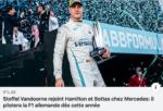 Stoffel, officiellement 3° pilote chez Mercedes GP
