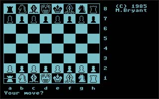 Colossus Chess - C64 (Commercial Data Systems, 1984)