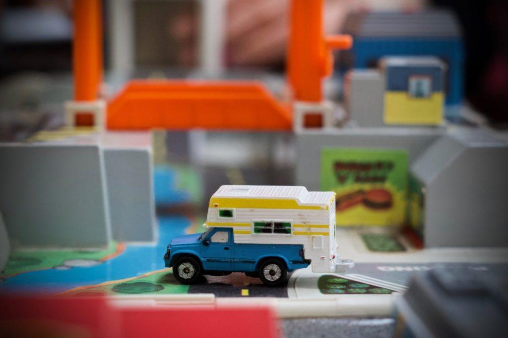 Caravan - Adventures Set - Micro Machines, 1990