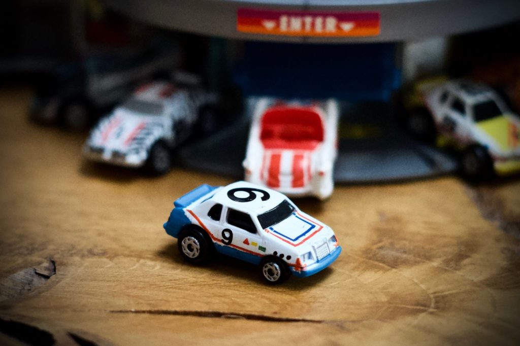 '87 TBird - 1988 Stock Car Racers Collection #17 - Micro Machines