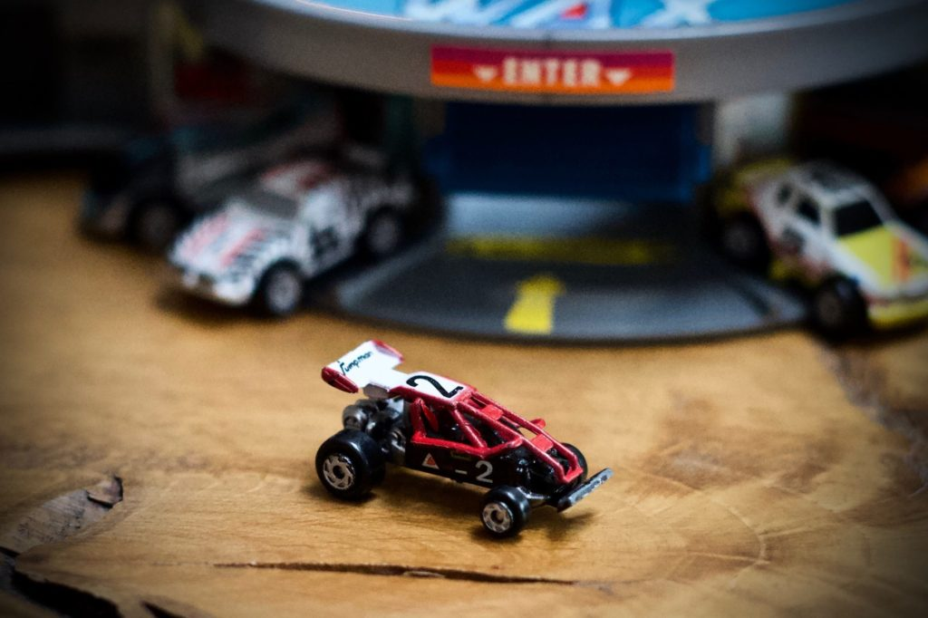 Souped Up Buggy - 1988 Pro Circuit Racers Collection - Micro Machines