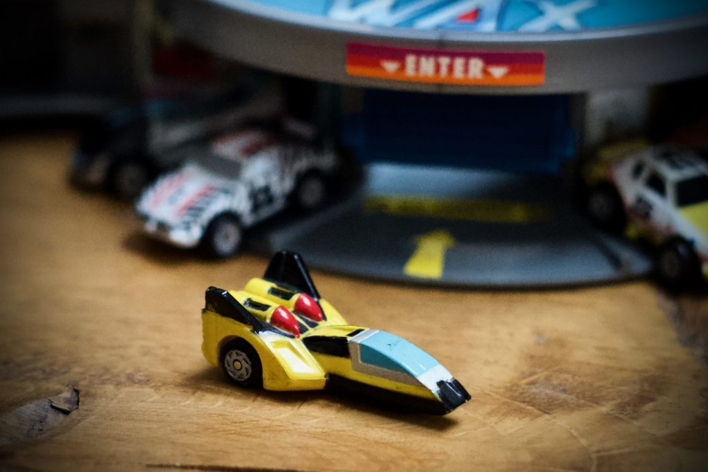 Hyper Cruiser - 2000 Years Collection #4 - Micro Machines