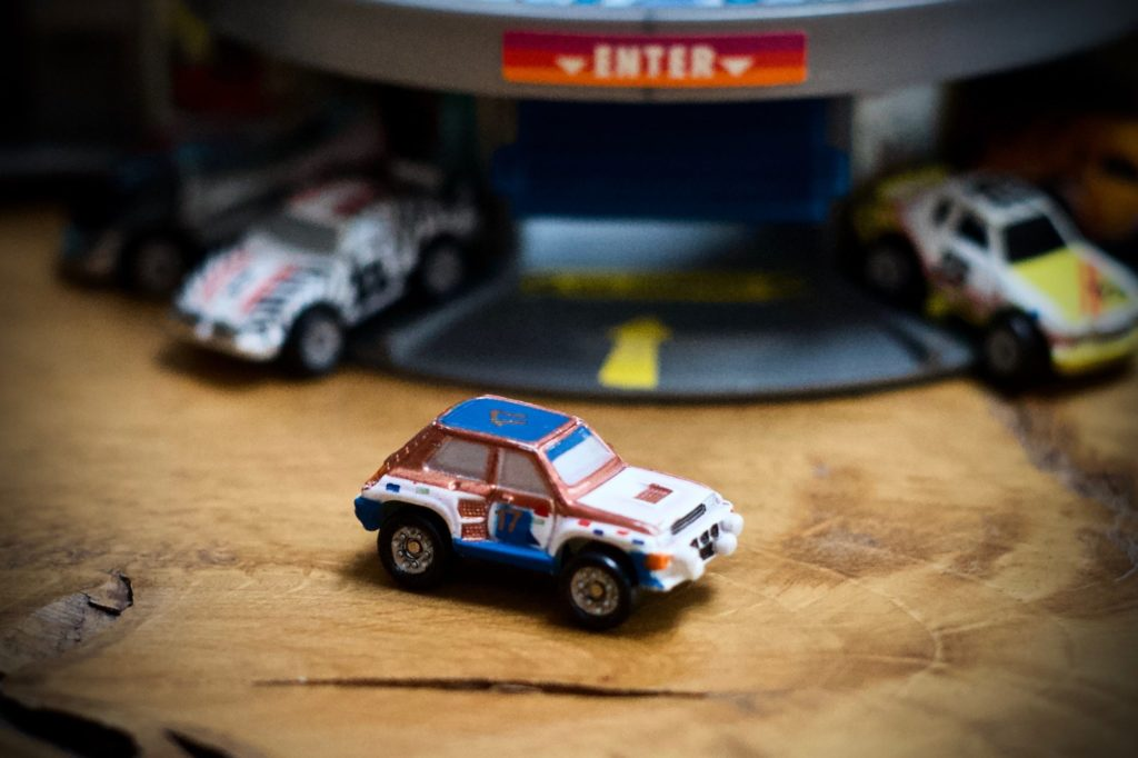 Renault 5 Turbo - Sun Color Changer #5 - Micro Machines, 1988