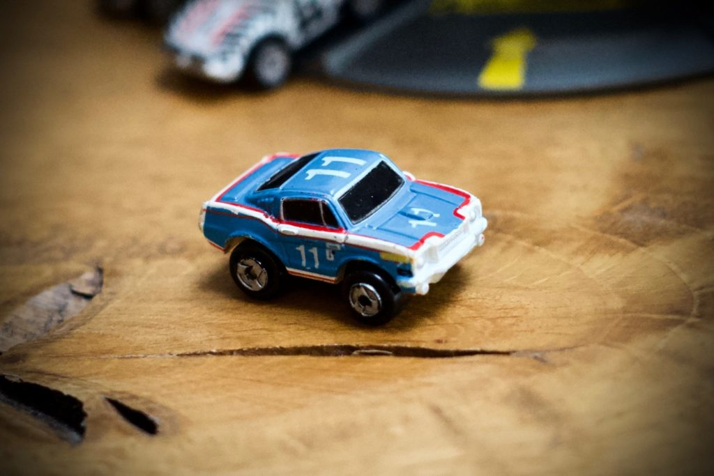 Ford '65 Mustang - 1988 Stock Car Racers Collection #17 - Micro Machines