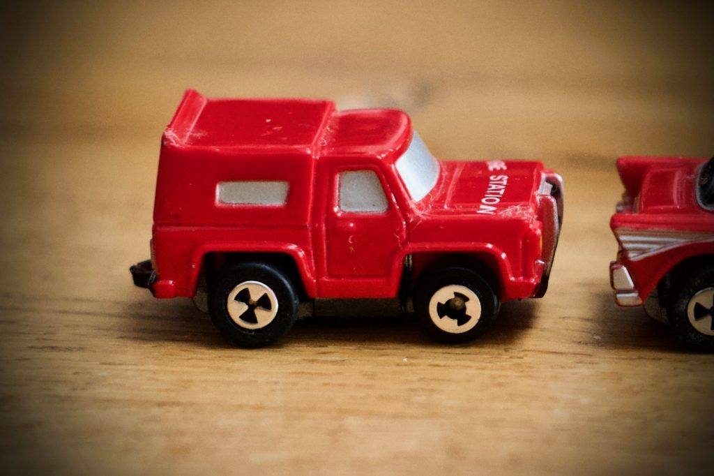 Fire Station Jeep - Imperials - Motor Friction
