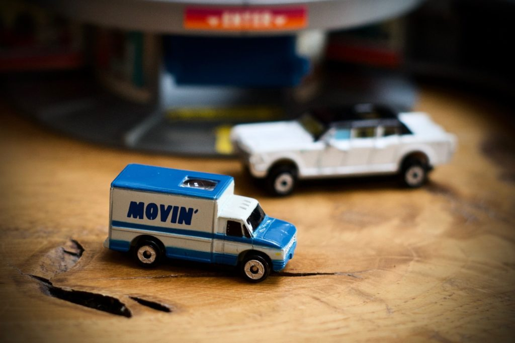 Ford Delivery Van - Private Eyes Collection 8 - Micro Machines, 1990