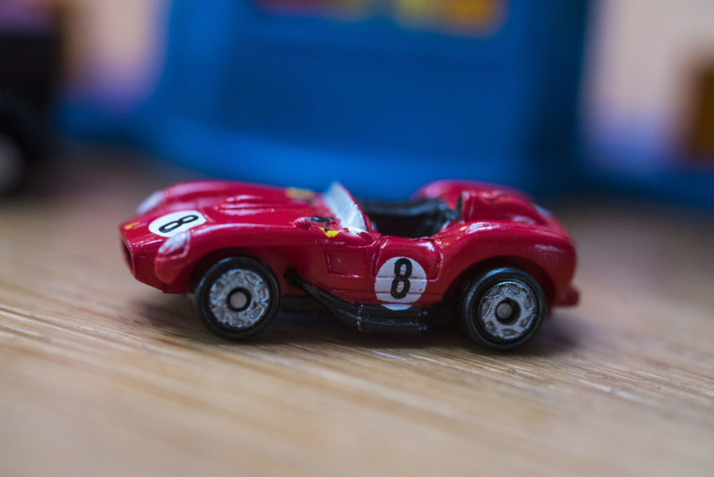 Ferrari 250 TR - Hall of Famers - Galoob Micro Machines, 1995