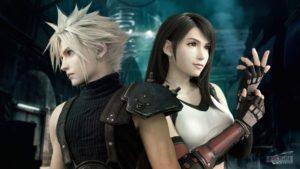 Cloud et Tida - Final Fantasy VII 'Remake'