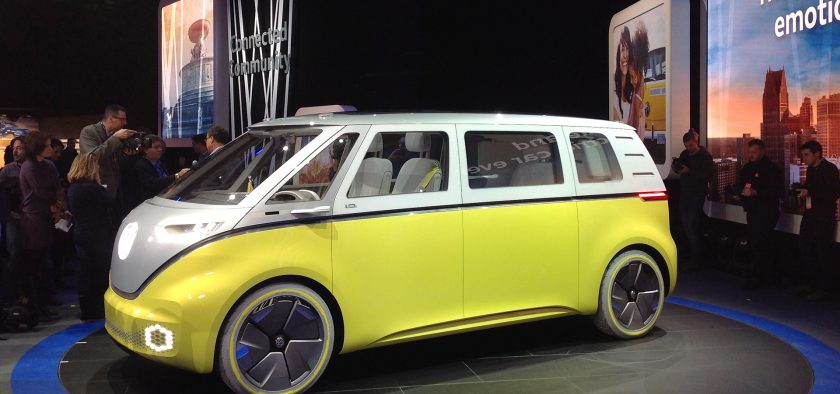 Volkswagen A Garde La Surprise Sur Ce Concept Id Buzz Jusqua La Veille De Louverture Du Salon De Detroit