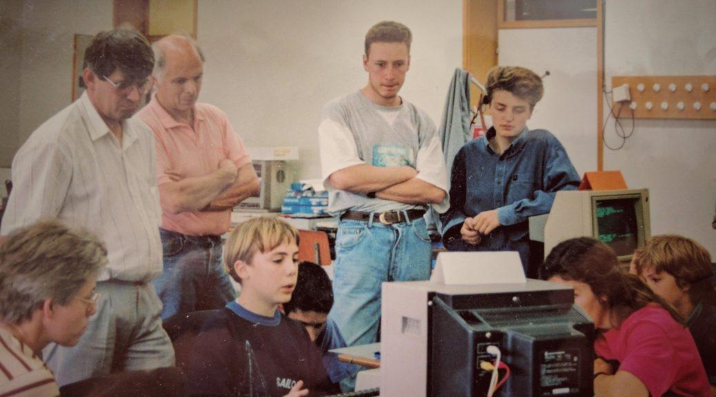 Quand Sylvain Martin a fait ses premieres ligne de code à l'Unif !