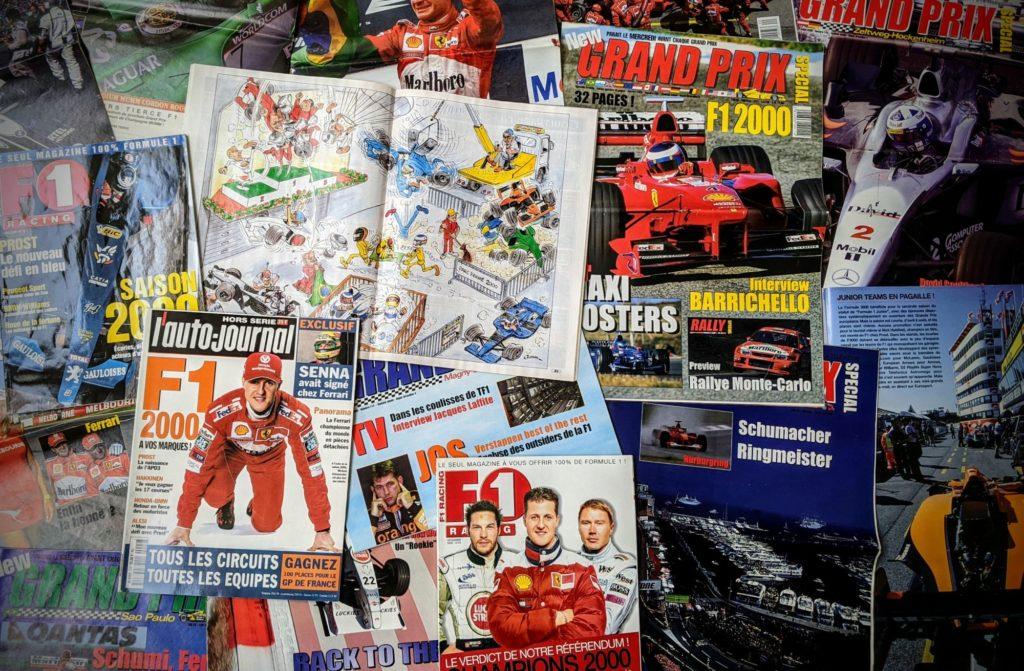 La Saison 2000 de Formule 1 - Magasines