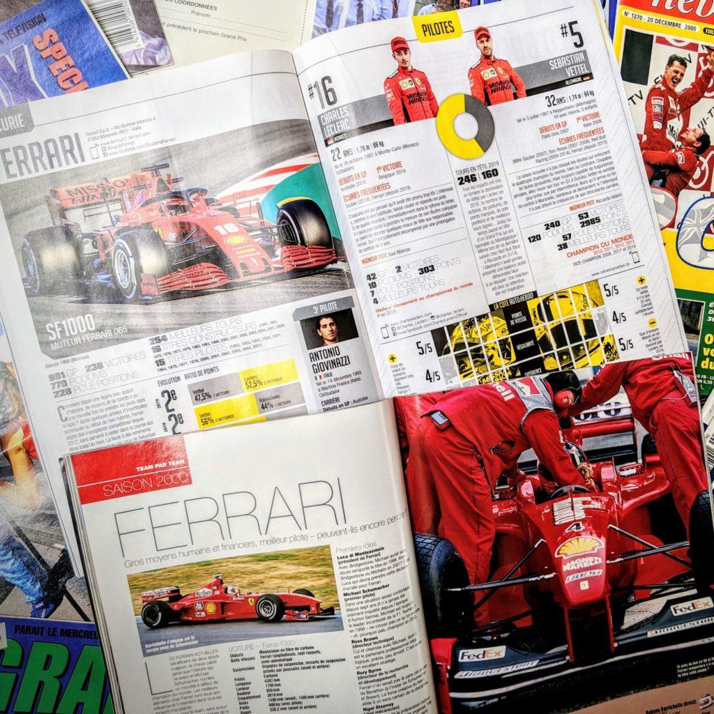 Ferrari 2020 VS Ferrari 2000