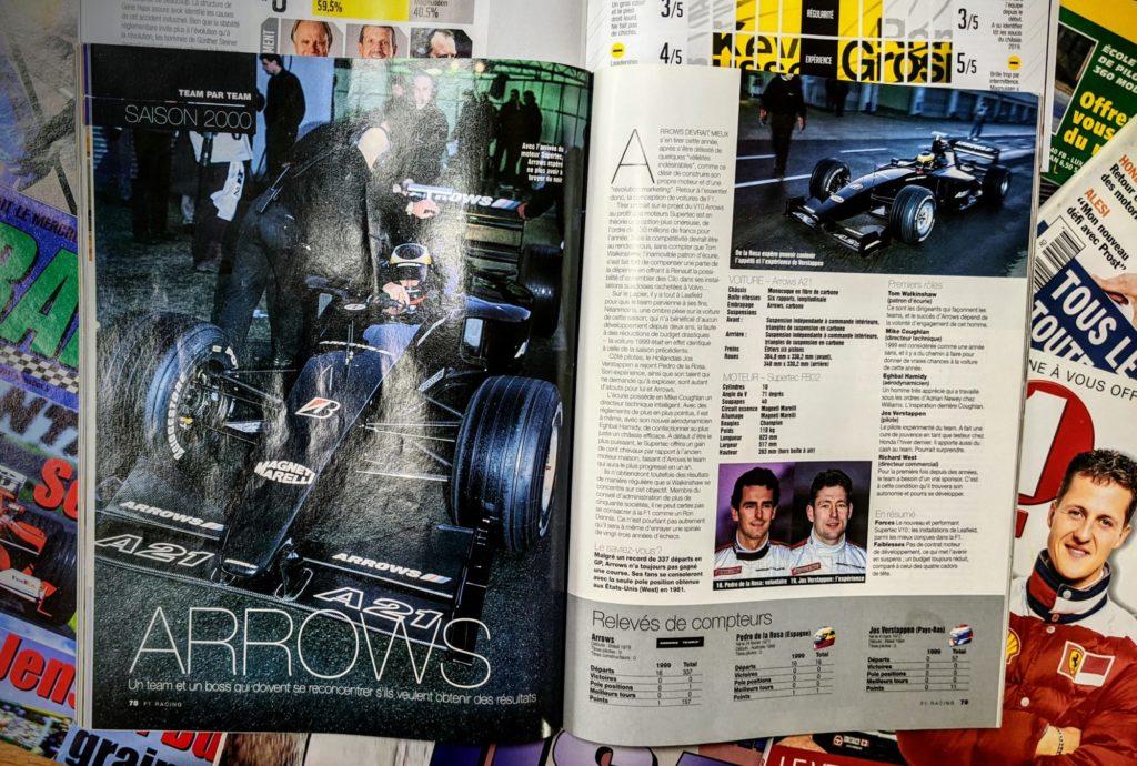 L'Arrows Supertec de la saison 2000