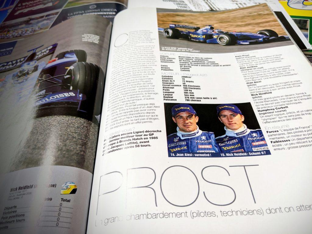 100% française, la Prost GP Peugeot de Jean Alesi brillera-t-elle ?