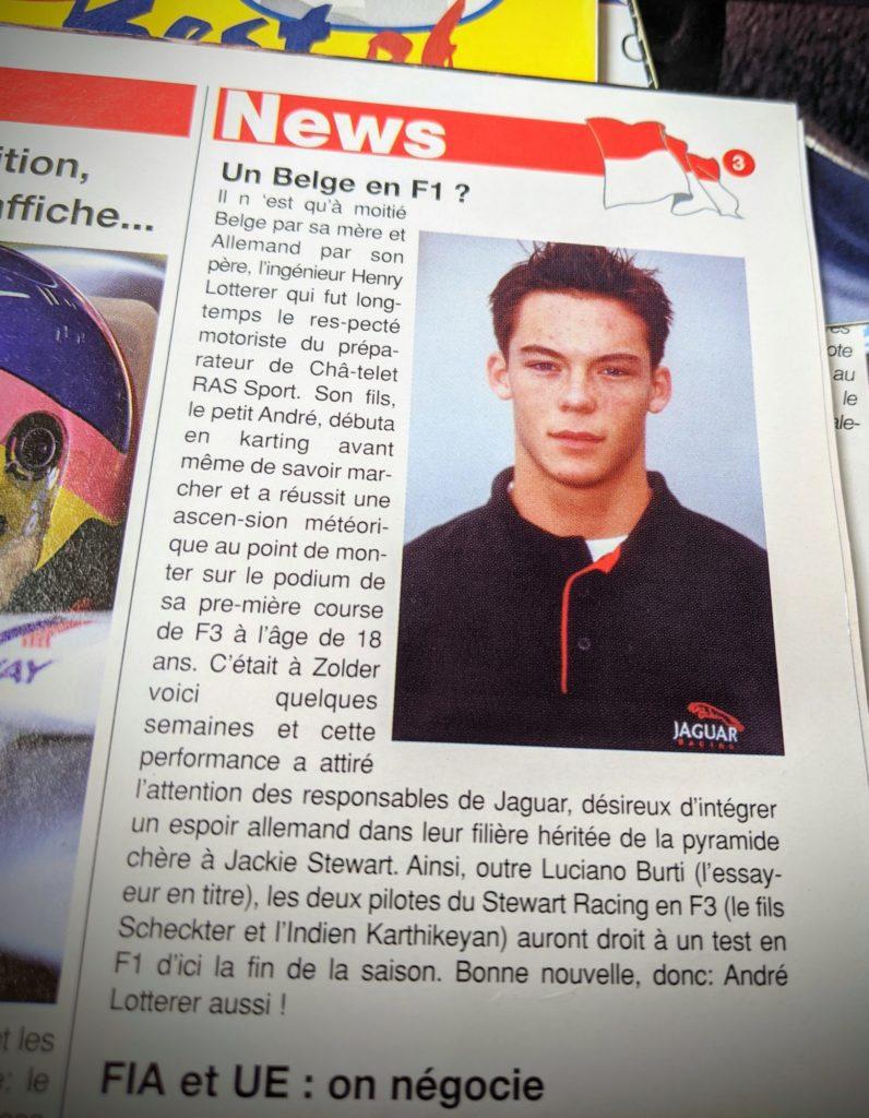 André Lotterer, un futur belge en F1 ?