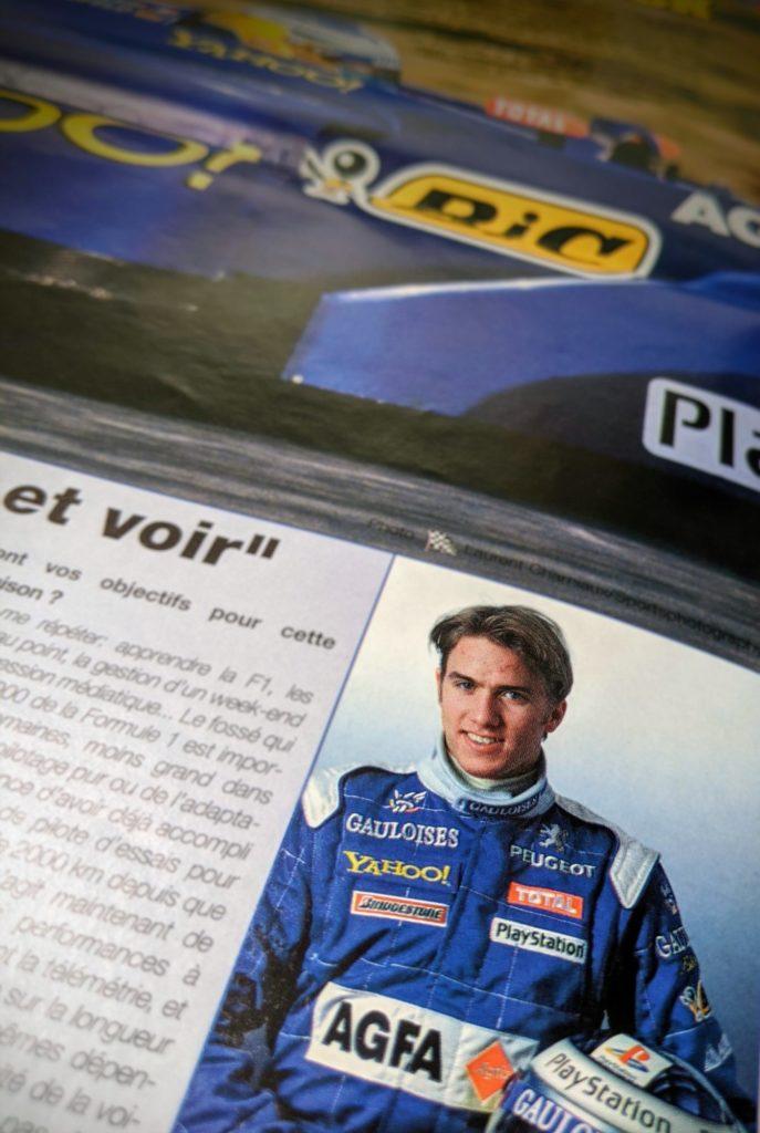 Saison 2000, La machine de guerre Nick Heitfeld débarque en F1