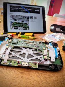 Le GamePad de la WiiU est démonté !