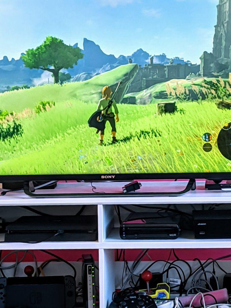 Bon, ben on pourrait se tenter Legend of Zelda : Breath of Wild pour finir