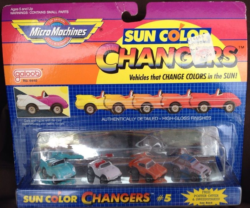 Sun Color Changer #5 - Micro Machines, 1988