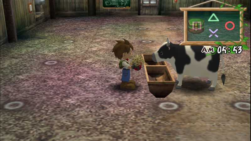 Harvest Moon A Wonderful Life - PS2 (Natsume - Marvelous, 2005)