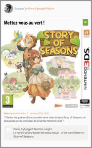 La série Harvest Moon fait peau neuve... et se transforme en Story of Seasons.