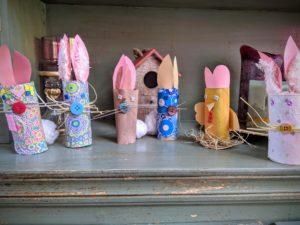 Nos petits lapins de Pâques