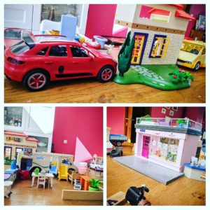 Les Playmobils envahissent la maison