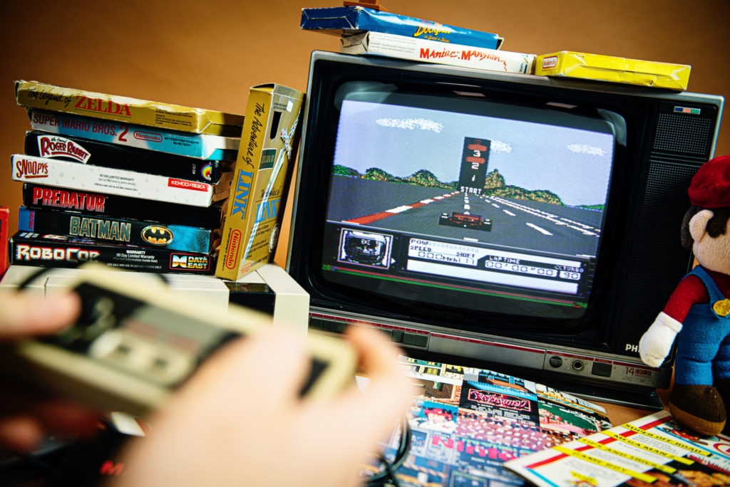 Shooting Retrogaming - NES - Turbo Racing