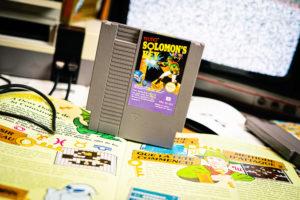 Shooting Retrogaming - NES - Solomon Key