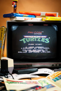 Shooting Retrogaming - NES - Teenage Mutant Ninja Turtles