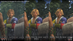 FFX PS2 VS FFX HD Remaster PS3/PS4