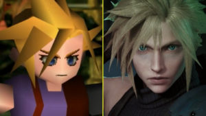 FFVII PS1 VS FFVII Remake PS4