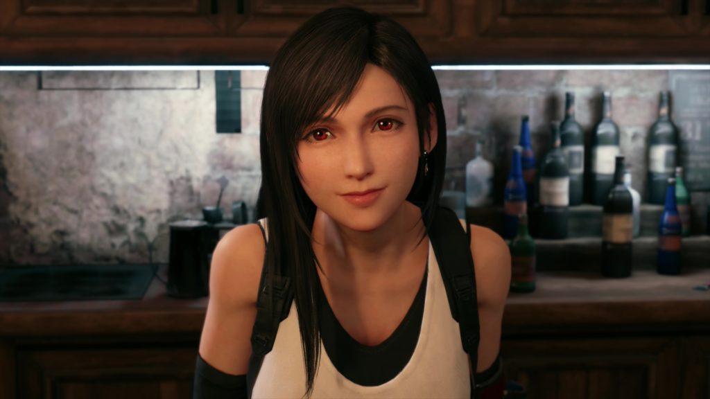 Tifa, peut-être le personnage auquel j'accroche le moins, FFVII 2020