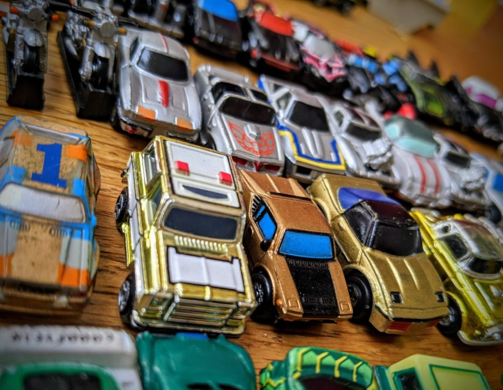 Puzzle de petites Micro Machines...