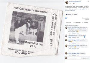 Un de mes plus beaux souvenirs d'ado,... le concert des Benny B à Waremme