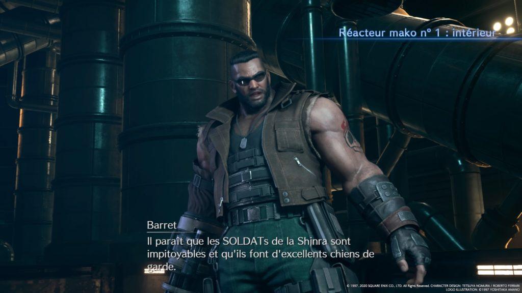 L'impressionnant Barrett, FFVII Remake, 2020