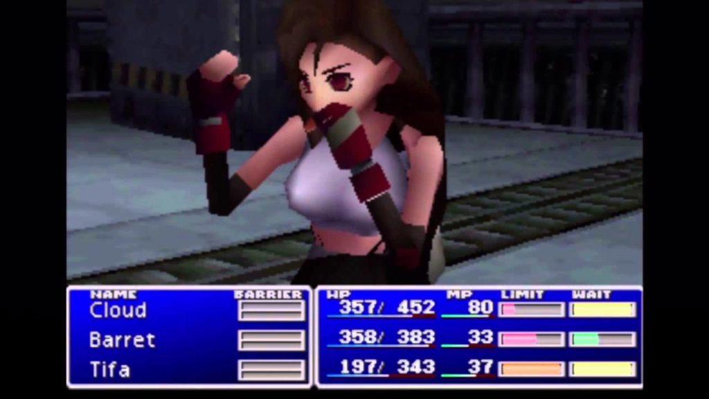 Tifa, un style très Tomb Raider, FFVII, 1997