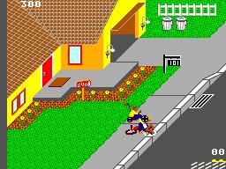 Paperboy - Master System (US Gold - Atari, 1990)